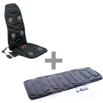 Kit Esteira Massageadora Massage Mat e Assento Ultra Massage - Relaxmedic