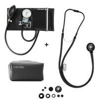Kit Estetoscopio + Aparelho De Medir Pressão + Estojo Pamed - P. A. Med