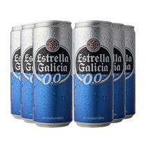 Kit Estrella Galicia Sem Álcool  - Compre 4 Cervejas e Leve 6 -