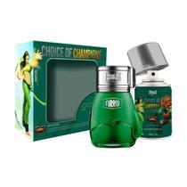 Kit Everlast Choice Of Champions Street Fighter Brasil (Perfume 100 ml + Desodorante 250 ml) -