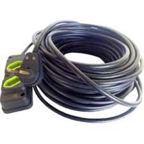 Kit Extensao 50m C/ Tomada Dupla Cabo Pp 2x1.5mm - Rb