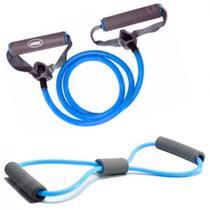 Kit Extensor em Oito Forte + Extensor Uma Via Forte Azul  Liveup -
