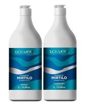 Kit Extrato de Mirtilo Shampoo + Condiconador 1 Litro - Lowell -