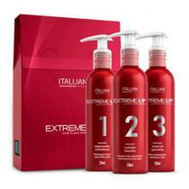 Kit Extreme Up Itallian Hairtech Regenerador, Nutrição e Queratina 230ml - Italian