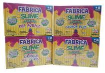 Kit Fabrica De Slime Kimeleka 4 Modelos Acrilex - Artkids -