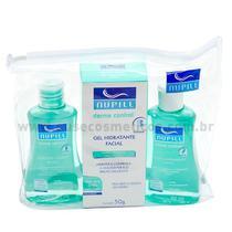 Kit Facial Nupill Derme Control Sabonete + Adstringente + Gel Hidratante -