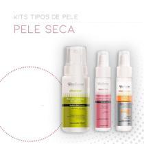 Kit facial para peles secas - Vita Derm Hipoalergênica