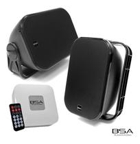 Kit Fácil Bsa Caixas Aw6 Amplificador Bluetooth/usb/sd 120w - Bravox