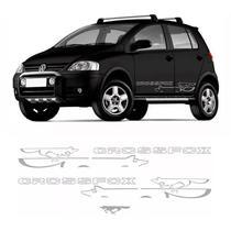 Kit Faixa Crossfox 2008 e 2009 Adesivo Lateral E Traseiro - Sportinox