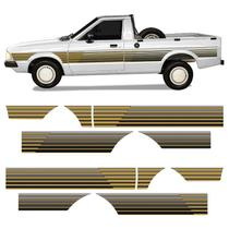 Kit Faixa Ford Pampa 1994 Adesivo Lateral Modelo Original - Sportinox
