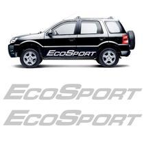 Kit Faixa Lateral Ecosport 2002 Até 2012 Adesivo Portas - SPORTINOX