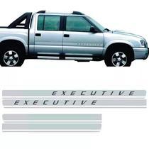 Kit Faixa Lateral Executive S10 Blazer 2009 A 2011 - Prime