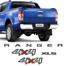Kit Faixa Ranger 4x4 Xls Ford Ranger 13/16 Adesivos Grafite - Sportinox