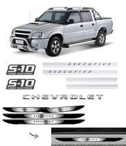 Kit Faixa S10 Executive Turbo Eletronic + Soleira Da Porta - SPORTINOX