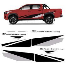 Kit Faixas Hilux Gr Toyota Gazoo Racing 2020 Adesivo Lateral - SPORTINOX