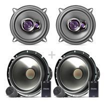 Kit Falantes 2 Vias 6 E 5 Polegadas Pioneer Gol  G5 200w 4p -
