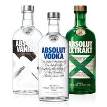 Kit Família Vodka Absolut - DrinksCo