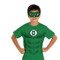 Kit Fantasia Fast 2 Go - Lanterna Verde - Liga da justiça