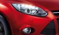 Kit Farol de Milha Neblina Ford Focus 2014 2015  - Interruptor Alternativo + Aro Cromo - Suns