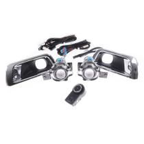 Kit Farol de Milha S-10 2012 à 2018 Botão Modelo Original ShockLight -
