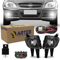 Kit Farol Milha Celta Prisma 2007 2008 2009 2010 Original Arteb - Kit Prime