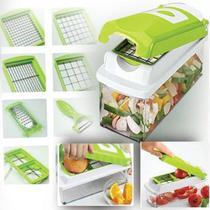 Kit Fatiador Cortador De Legumes Plástico E Inox - Futuro