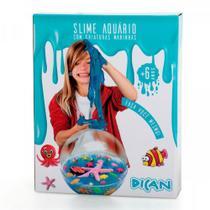 Kit Fazendo Slime Aquário Criaturas do mar 2 5202 DICAN -