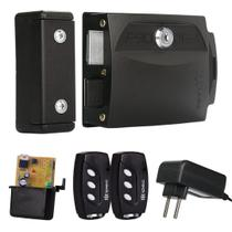 Kit Fechadura Elétrica Abertura Controle Remoto Ipec Br Pt -