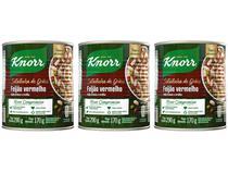 Kit Feijão Vermelho em Conserva Knorr - Saladinha de Grãos 170g 3 Unidades