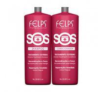 Kit Felps Reconstrução S.O.S Shampoo + Condicionador 1L - Felps Professional