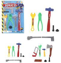 Kit ferramenta infantil com 7 peças - Wellmix