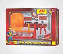 Kit Ferramentas 20pcs Com Capacete Engenheiro Lider 2381 - Líder
