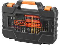 Kit Ferramentas Black&Decker 104 Peças - Easy Grip A7230-XJ com Maleta - Black+Decker