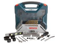 Kit Ferramentas Bosch 100 Peças X-Line - com Maleta