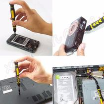 Kit  Ferramentas Conjunto Abrir Iphone Celular Gps Notebook Tablet Gps Ultrabook Samsung Lumia Computador - Wlxy