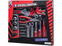 Kit Ferramentas de Brinquedo Oficina Criativa - 28 Peças Multikids