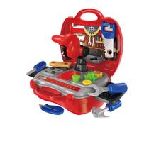 Kit ferramentas de brinquedo workshop -  maleta c/ 19 itens multikids - Atrio