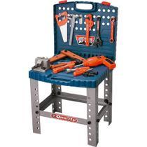 Kit ferramentas infantil com bancada e furadeira bel - Bel fix
