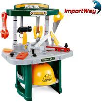 Kit Ferramentas Infantil Oficina 54pcs 47cm Importway - BW033 -