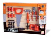 Kit Ferramentas Junior Brinquedo 19 Peças - 117180 - Silmar