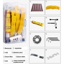 Kit Ferramentas Manutenção Chaves Para Reparo da Bicicleta - AAA