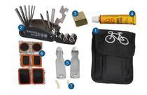 Kit Ferramentas Reparo Manutenção E Remendo P/ Bicicletas - Rappanda