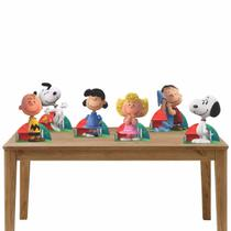 Kit Festa 6 Displays de Mesa Aniversário Snoopy - Inove Adesivos