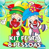 Kit Festa 8 Pessoas - Patati Patata - Brilhante