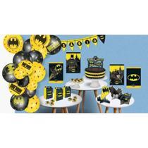 Kit Festa Batman com 89 peças - Festcolor