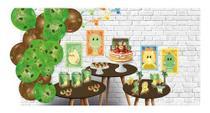 Kit Festa em Casa Dino Baby Completo Aniversário Bebe balões - Festcolor