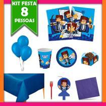 Kit Festa Infantil Authentic Games 08 Pessoas - Festabox