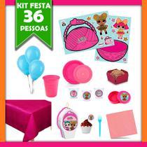 Kit Festa Infantil LOL Surprise 36 Pessoas - Festabox