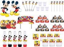 Kit festa Mickey 173 peças (20 pessoas) -