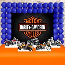 Kit Festa Ouro Harley Davidson - IMPAKTO VISUAL -